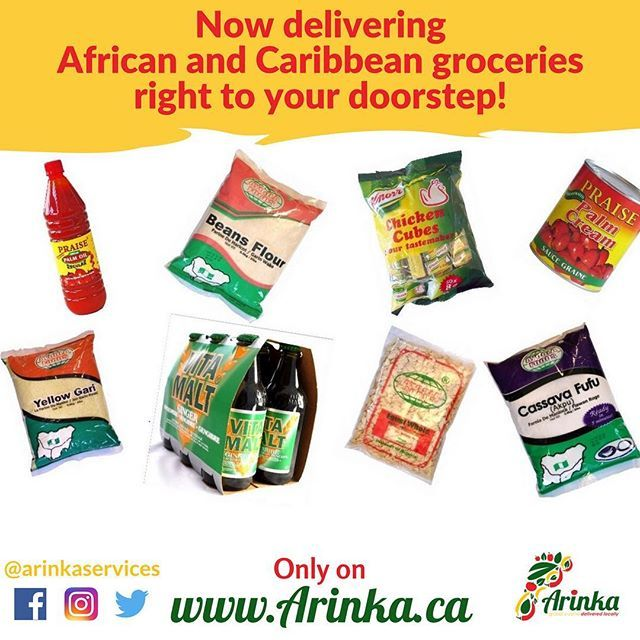 This Thanksgiving we are grateful for your immense support, and to say thank you we have a wonderful gift for you.  Just in time for winter: Arinka now offers African & Caribbean groceries delivered right to your doorstep!!! Log on to www.arinka.ca to order your essential kitchen staples and get them delivered at your convenience to your home in Calgary & Airdrie.  Happy Thanksgiving Arinka family! . . .  #YYC #yyceats #yycfood #yycfoodtrucks #groceries #fooddelivery #groceriesdelivery…