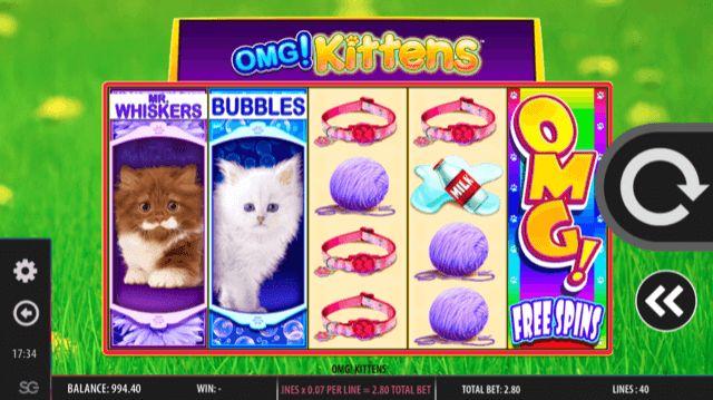 OMG! Kittens Slot Review | WMS