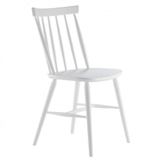 TALIA White dining chair