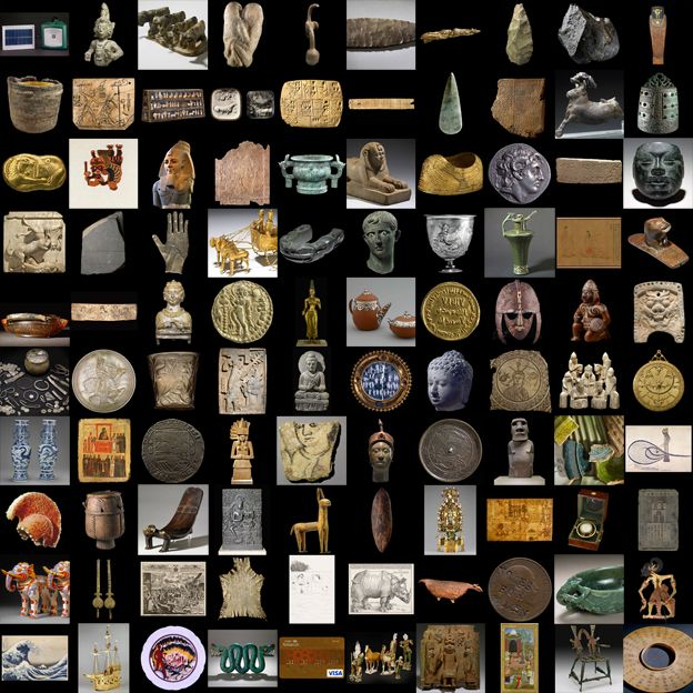 Listen up all you Home School Moms - This site is amazing.  A History of the World in 100 objects.  This was originally a radio show  that was so popular they published it into a book.  But now you can go to each artifact and there is a link to the radio show on that article you can listen to! Amazing.