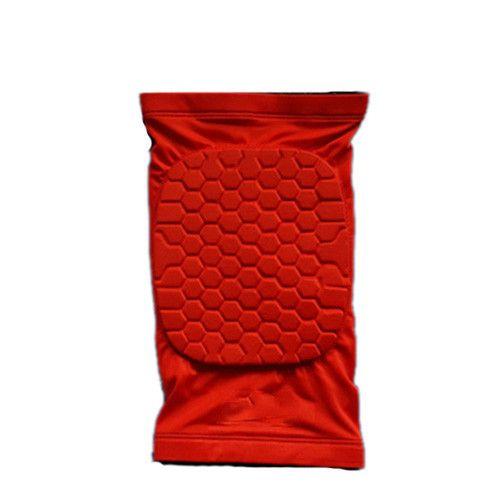 1PCS Mcdavid honeycomb short kneepad basketball Leg Sleeve tape Breathable Pad Bumpersupport Sport Safety Compression Knee brace