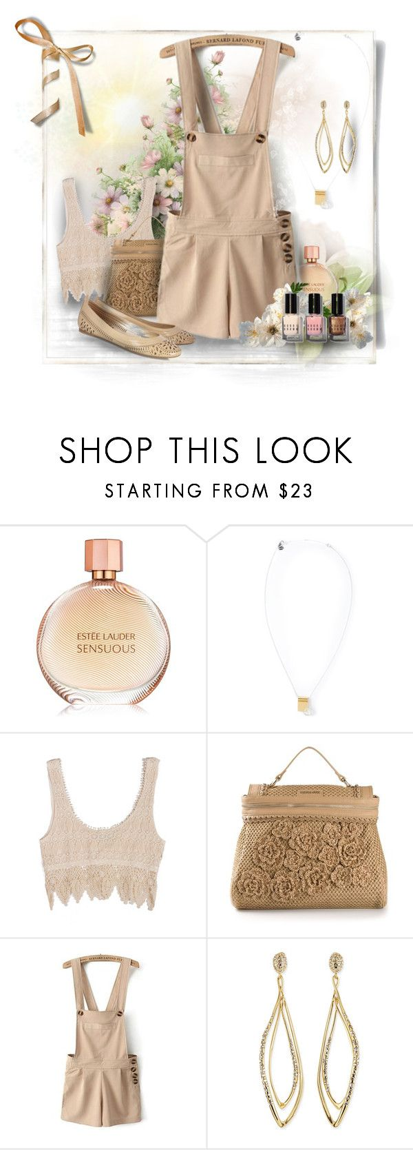 """""""Tricky Trend: Look Chic in Overalls"""" by debi820 ❤ liked on Polyvore featuring Ruifier, Twin-Set, Alexis Bittar, belle by Sigerson Morrison and Bobbi Brown Cosmetics"""
