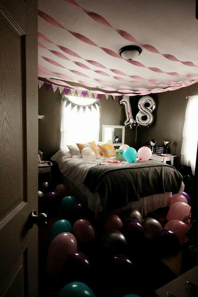 Ideas para festejar cumpleaños numero 18