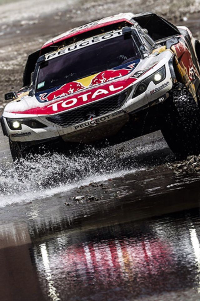 22 best dakar & co images on pinterest | rally car, car and peugeot
