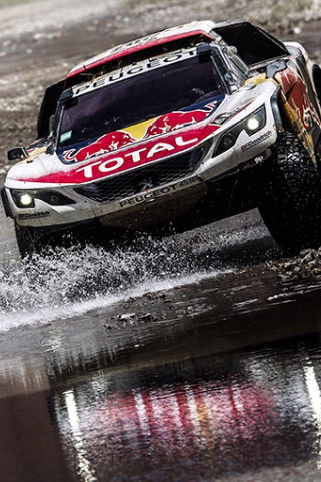 Dakar 2017 peugeot 3008 DKR rally car. Winnaar. Voor Peugeot 3008 parts: https://bartebben.nl/map/gebruikte-onderdelen/peugeot-3008.html