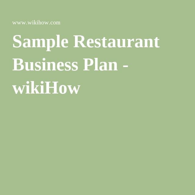 The 25+ best Restaurant business plan ideas on Pinterest Cafe - hotel business plan template