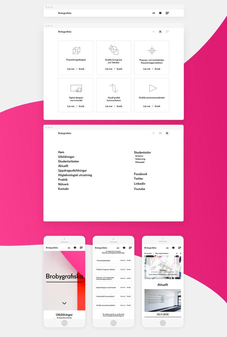 Brobygrafiska.se Redesign on Behance
