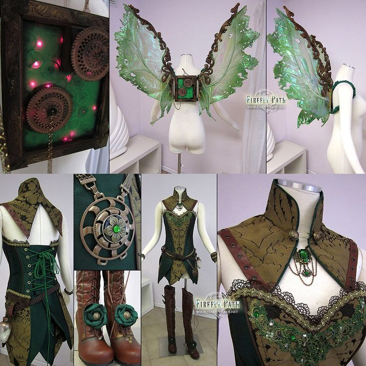 Steampunk Tendencies | Steampunk Tinkerbell by Firefly Path http://www.steampunktendencies.com/post/81030370904/