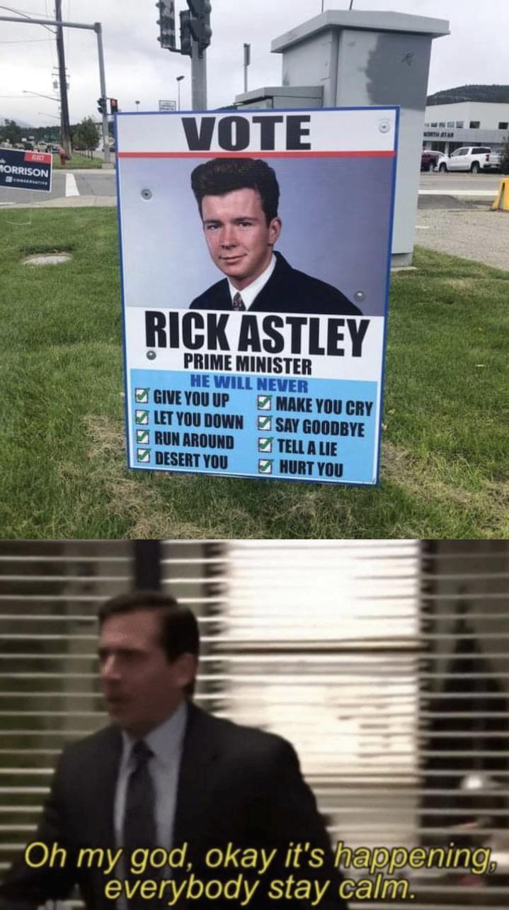 Never Gonna Memes Memesociety Funny Really Funny Memes Stupid Funny Memes Funny Relatable Memes