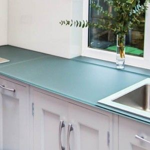 Non Scratch Glass Worktops | Scratch Resistant Kitchen Worktops UK