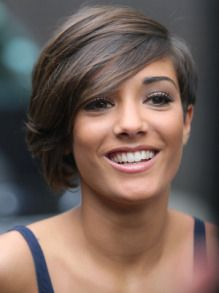 Frankie from the Saturdays loveeee her haircut. I wish I could pull this off.