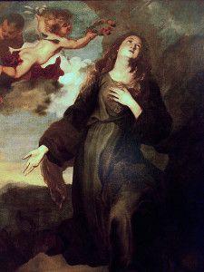 Santa Rosalia Sinibaldi (Palermo, 1128 – Palermo, 4 settembre 1165) è venerata come santa vergine dalla Chiesa cattolica; secondo la tradizion