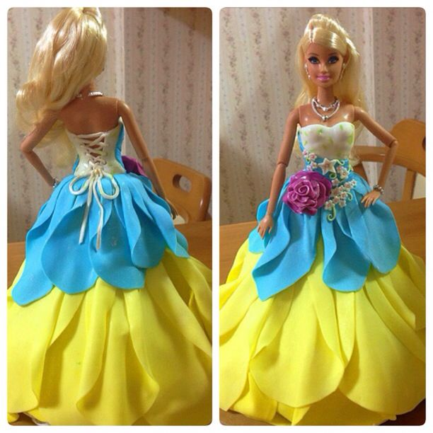 barbie's clothes made w/ mmf