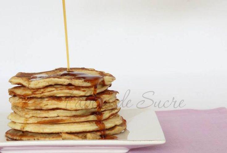 Pancakes con pasta madre