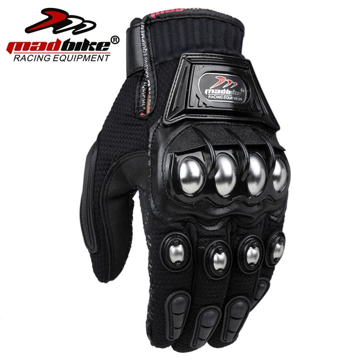 MADBIKE Stainless Steel Motorcycle Gloves Black Blue Motocross Gloves Guanti Motorbike Protective Guantes Luvas Para Moto #women, #men, #hats, #watches, #belts