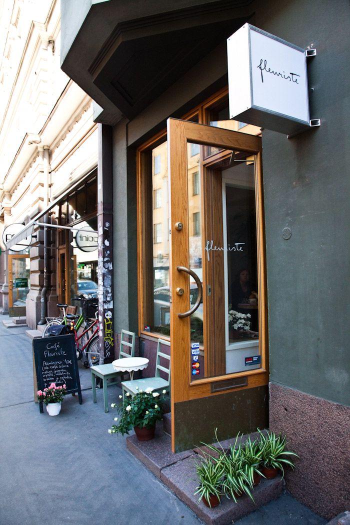 cafe fleuriste in helsinki / via kitka.