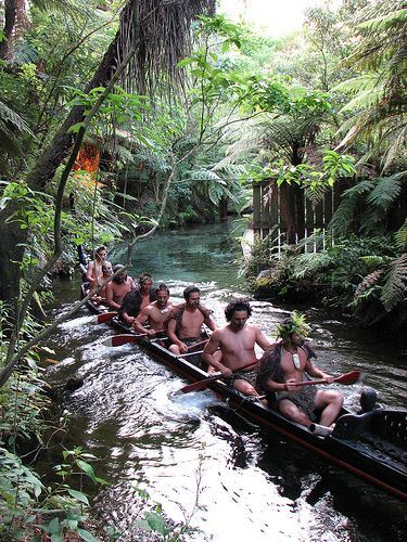 Mitai Maori Village, Rotorua, New Zealand