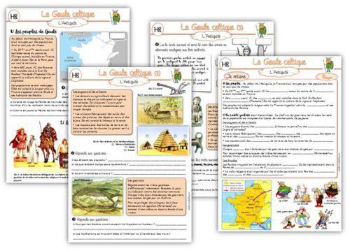 MAJ Histoire CE2 : La Gaule Celtique