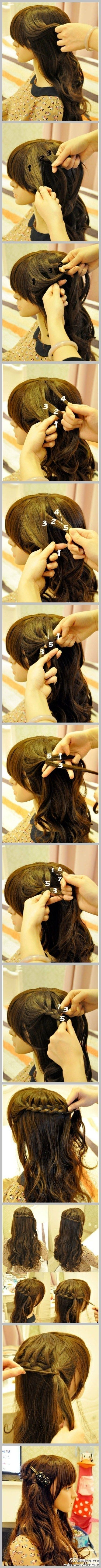 best Hairstyles Instructions On How To Do images on Pinterest