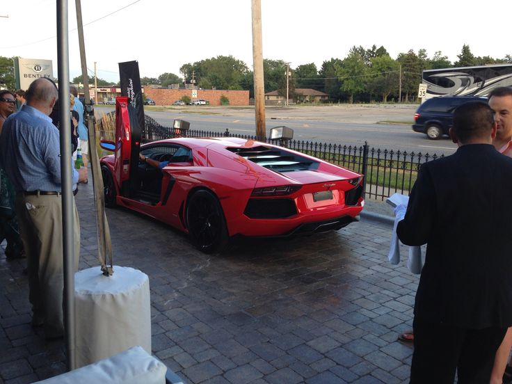New Lamborghini Dealership Grand Opening was yesterday at Downers Grove , IL