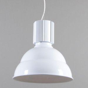 Lámpara colgante INDUSTRIE blanca - Lámparas colgantes - Iluminación interior - lamparayluz.es
