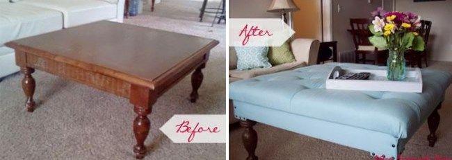 Реставрация кофейного столика