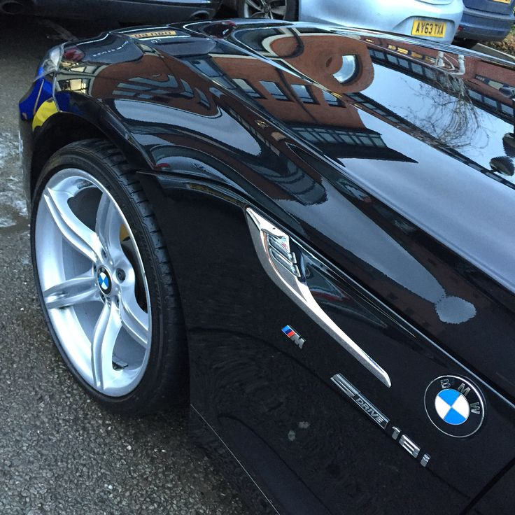 We Gave This BMW Z4 A Essential Wash And Hand Polish. With The Big Rims