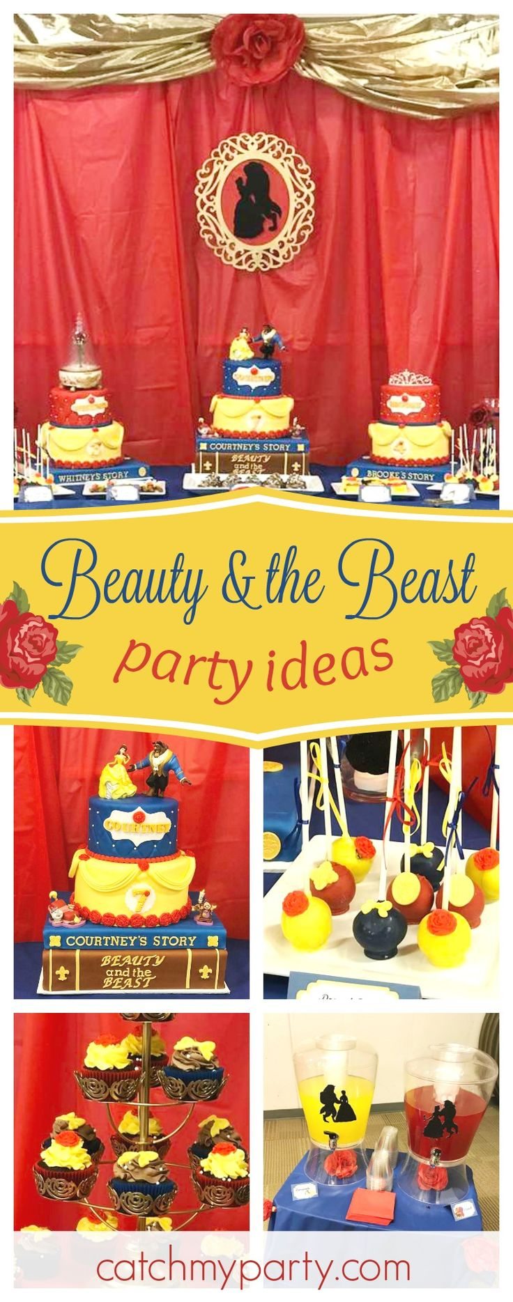 137 best Beauty and the Beast images on Pinterest | Birthdays ...