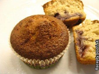 Hrnčekové špaldové muffiny - Vajcia vyšľaháme s trstinovým cukrom, pridáme mlieko a olej. Postupne primiešame aj špaldovú múku zmiešanú... Recepty pre každodennú kuchyňu s fotografiami.