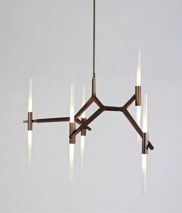Home Interior : Luxury And Elegant Light Fixtures Design For Home Interior  Lighting Agnes Chandelier By Lindsey Adams Adelman Bulbs ~ Resour.