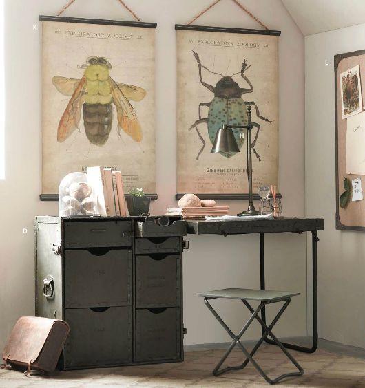 Vintage Style Industrial Desk.