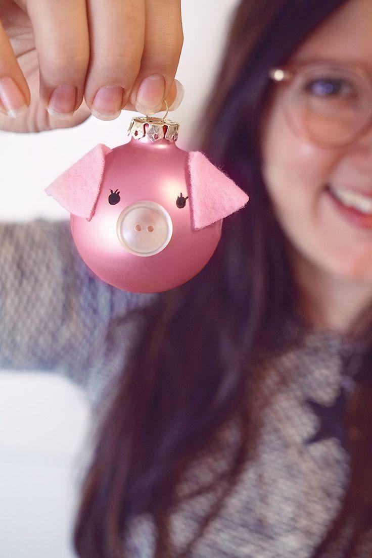 KuneCoco: DIY // Schweine-Christbaumkugeln + Gewinnspiel!