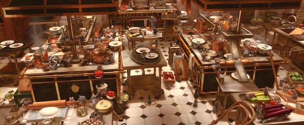 『라따뚜이』생쥐도 요리를 할 수 있다! 당신도 할 수 있다!! (2009.01.02)::감성미디어 Blue To Sky