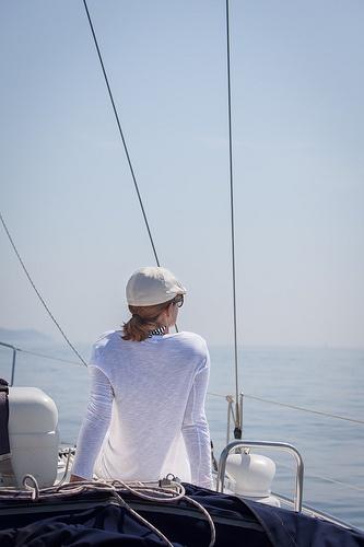 Des-estresandose en alta mar
