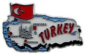 MGI Companies, Inc. - Turkey - International Country Shaped Map Magnets, $2.89 (http://www.internationalgiftitems.com/turkey-magnetic-map)