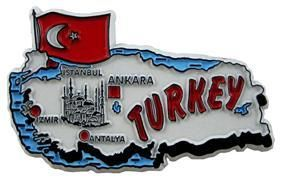 MGI Companies, Inc. - Turkey - International Country Shaped Map Magnets, $2.89 (http://www.internationalgiftitems.com/turkey-magnetic-map)