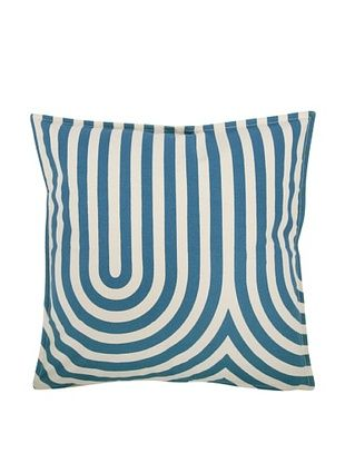 47% OFF Thomas Paul Geometric Feather Pillow, Teal