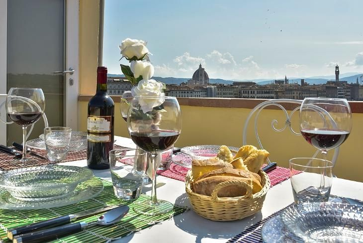 Casa Elisa: View from the rooftop terrace