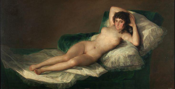 La Maja desnuda - Goya  1800