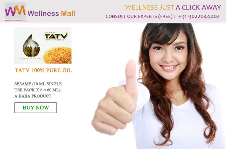 100% Pure Oil TATV Pure Sesame Seed Oil - Wellness Mall Visit http://goo.gl/deqLVW Tel : 9022044002 Price : ₹155.00 Sold by: AAAAA Group SKU: BA025. Category: Capsules & Oil
