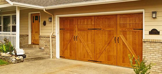 44 best images about curb appeal on pinterest wood for Wood overlay garage doors