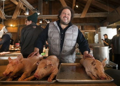 Picards' Sugar Shack - St. Benoit QC.  Would like to go, but NO idea what i would eat!!