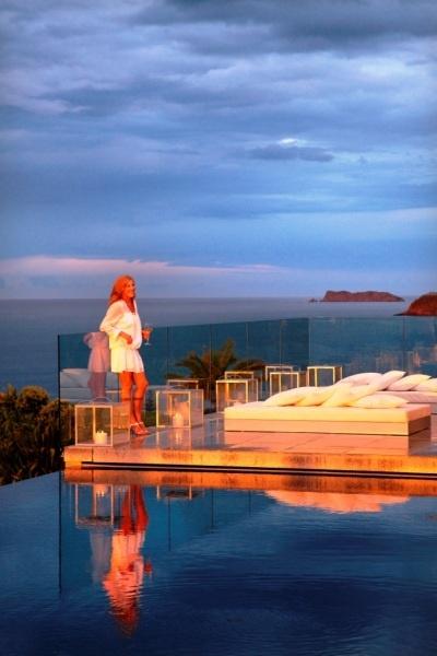 Sunset, Rahimoana Villa, Eagles Nest, New Zealand