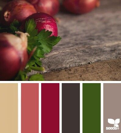 Produce colors