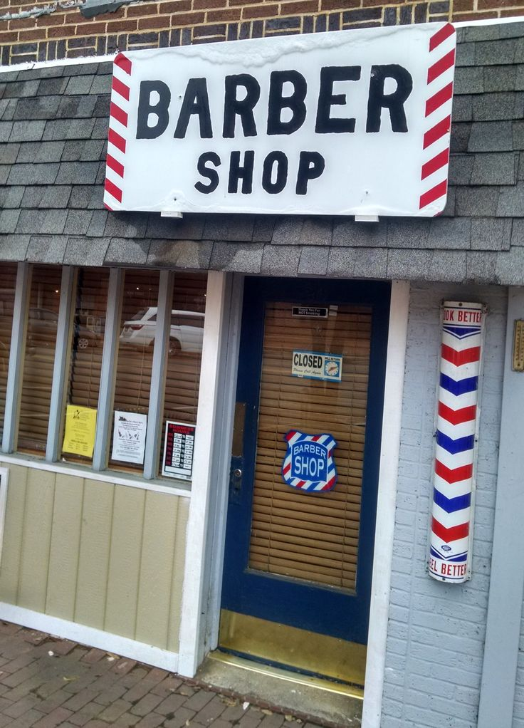 Barber Shop On Main : Barber Shop: On main street in Pittsboro, NC