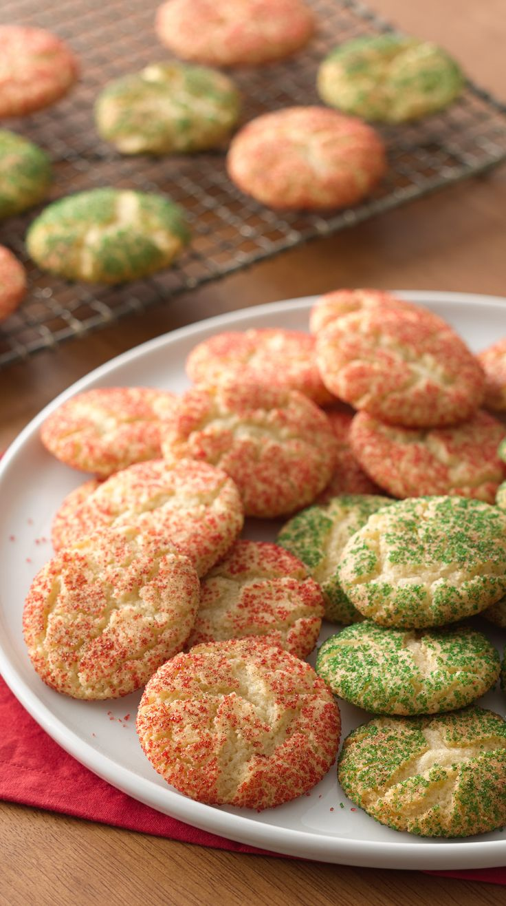 Christmas Snickerdoodles (Cookie Exchange Quantity ...