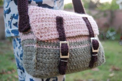 "Crocheted ""satchel"" I want to make!"