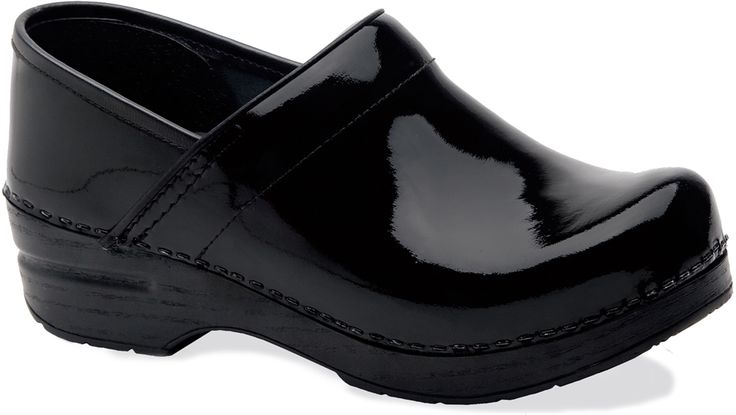 Nursing Shoes - Dansko Black Patent Professional Clog | Dansko Clogs | Brands | www.LydiasUniforms.com