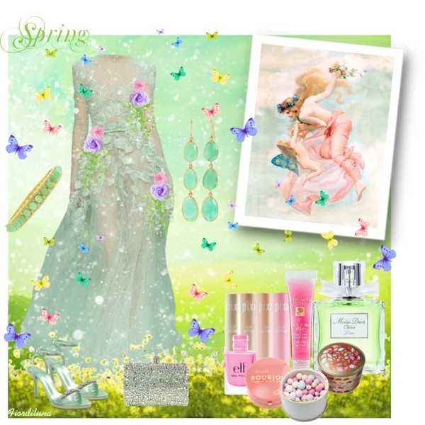 """""""It's Spring!"""" by fiordiluna on Polyvore"""