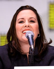Rachael MacFarlane ( Seth's Sister )  Voice of American Dad! - Hayley Smith .
